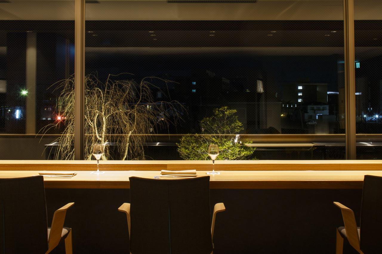 お食事<br>Wine&#038;Sushi会席 Blue Seasons