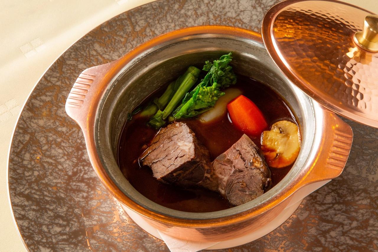 お食事<br>西洋ハイカラ料理 函館銀座軒
